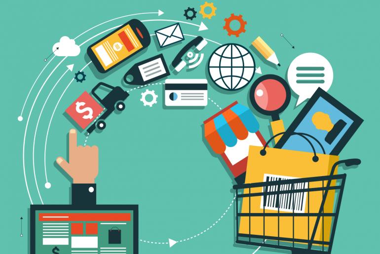 تعريف التجارة الإلكترونية واحصائيات عنها