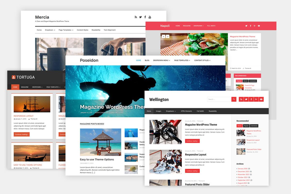 قوالب ووردبريس Wordpress Themes وكل ما يتعلق بها مدونة شركة تقنية