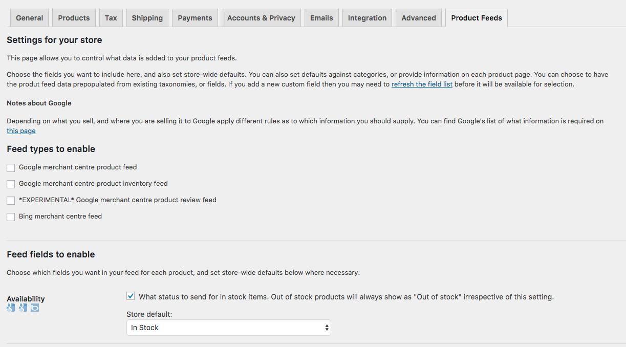 إنشاء موجز لمنتجاتك لنشرها في إعلانات جوجل شوبينج