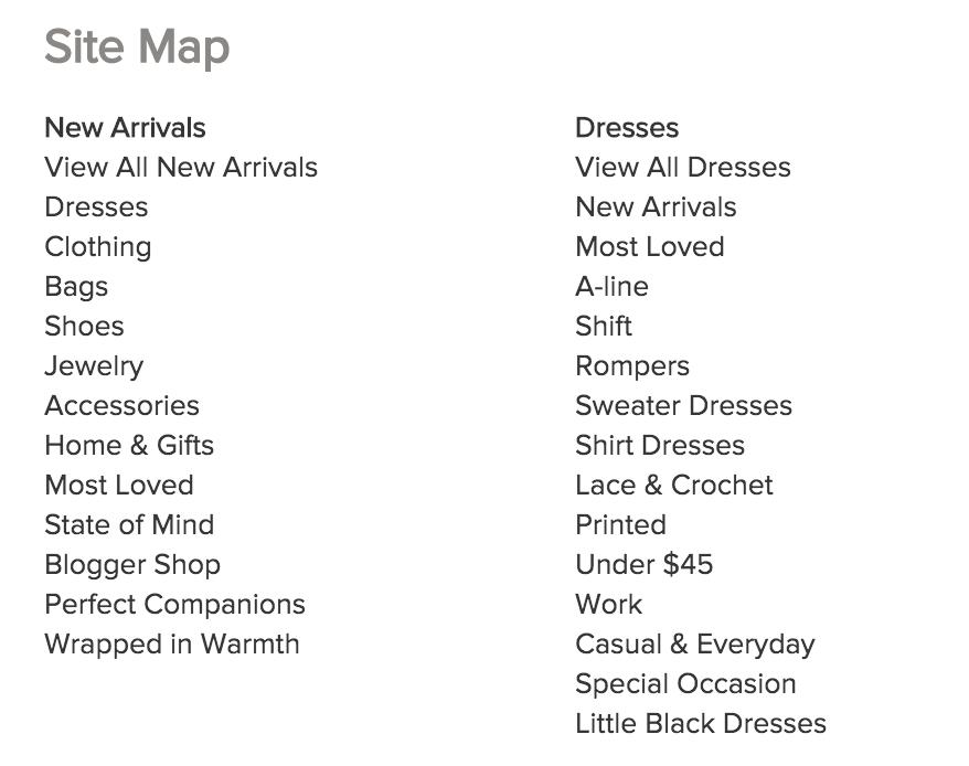 خريطة الموقع للمتاجر الإلكترونية وكيفية استخدامها باحتراف
