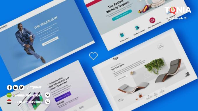 تصميم صفحة هبوط قادرة على زيادة معدلات البيع من موقعك